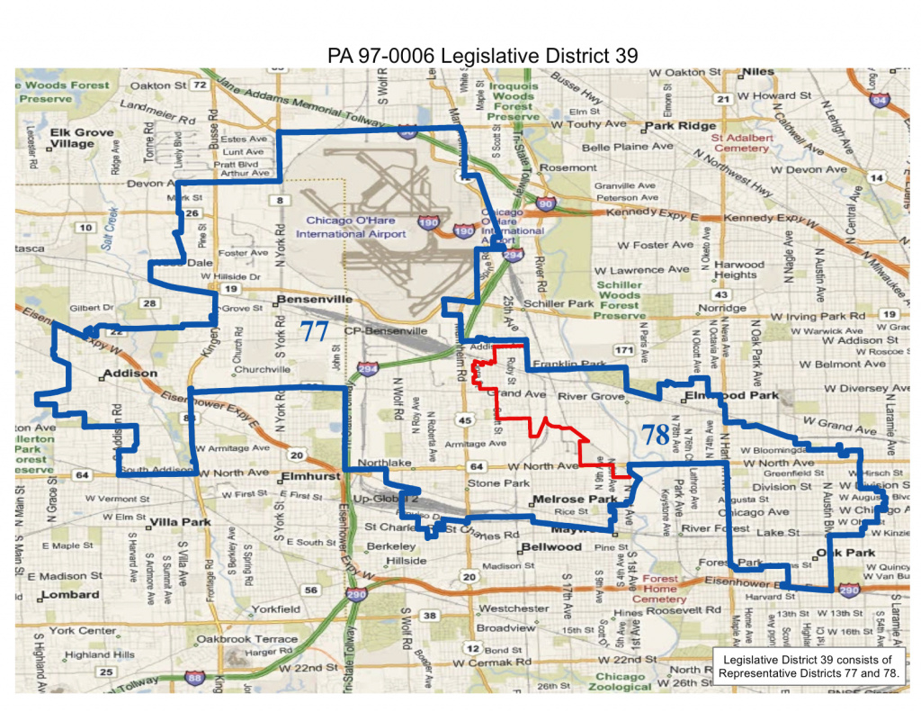 Will County Politics: Realigned Illinois State Legislative And State with regard to Illinois State Senate District Map