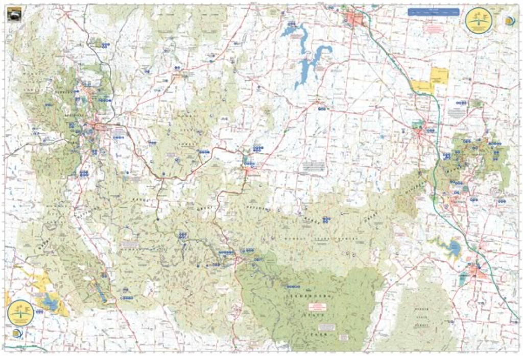 Wombat State Forest 4Wd Map : Meridian Map : 9781920958152 | The with Free Wombat State Forest Map