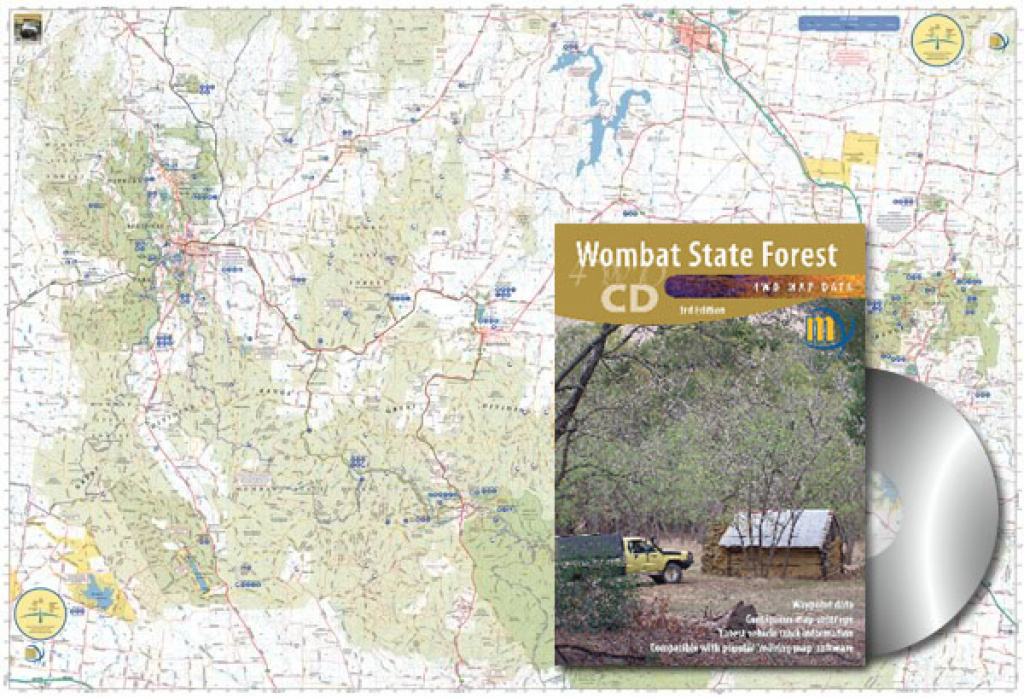 Wombat State Forest Cd Meridian | Maps | Books | Travel Guides | Buy within Free Wombat State Forest Map