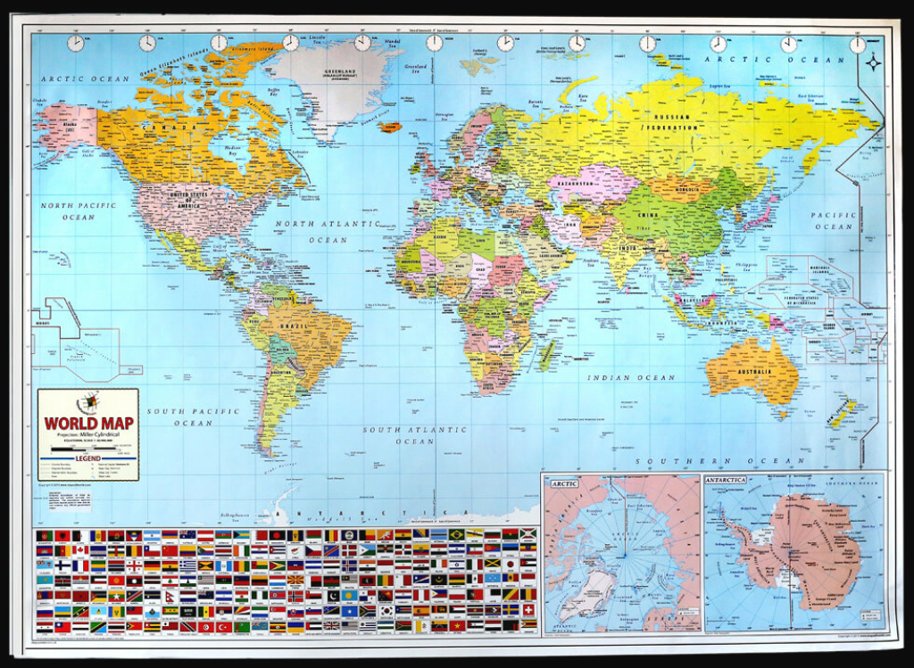 World Map Postermapsofworld throughout World Map With States And Capitals
