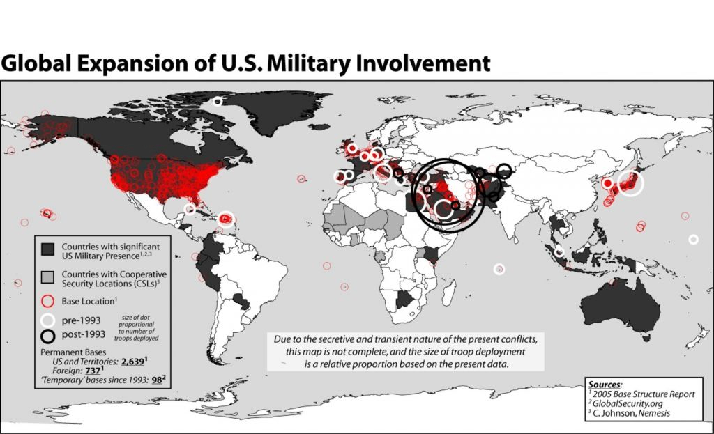 World Map Us Military Bases Us Military Refrence Us Military pertaining to United States Military Bases World Map