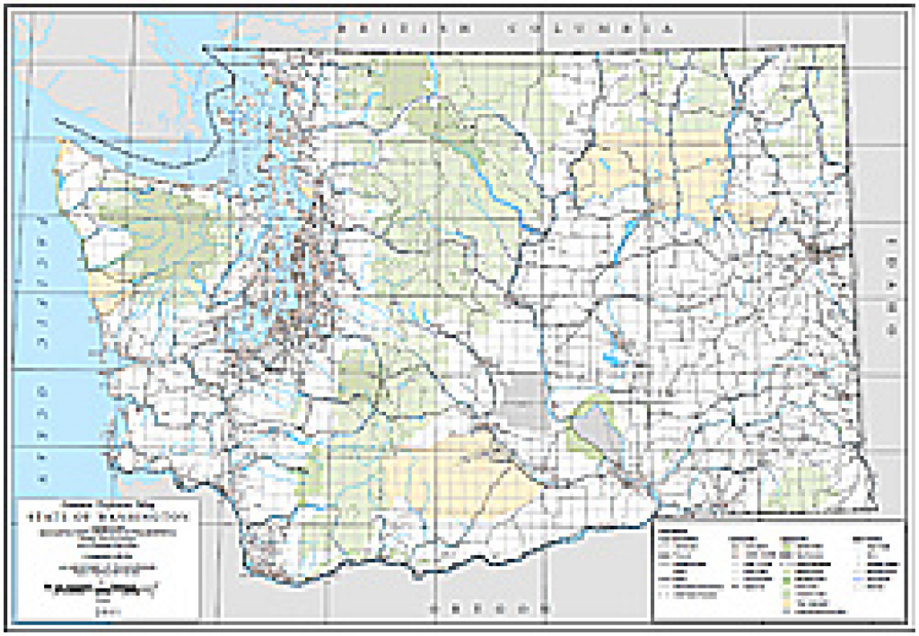 Wsdot- Digital Maps And Data inside Washington State Road Map Printable