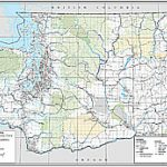 Wsdot  Digital Maps And Data Within Detailed Road Map Of Washington State