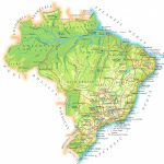 Www.mappi : Maps Of Countries : Brazil With Regard To Map Of Brazil States And Cities