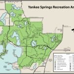 Yankee Springs State Recreation Areamaps & Area Guide   Shoreline Within Allegan State Game Area Trail Map