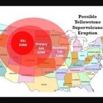 Yellowstone Super Volcano Could Explode With Devastating Regarding If Yellowstone Erupts Which States Would Be Affected Map