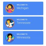 Your State's Biggest Stereotype, According To Google Maps   Travelpulse With Google Maps Welcome To State Icons