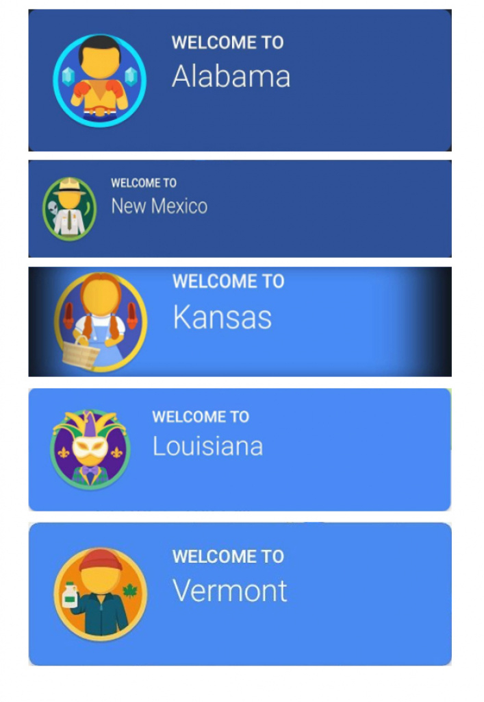 Your State's Biggest Stereotype, According To Google Maps   Travelpulse within Google Maps State Icons